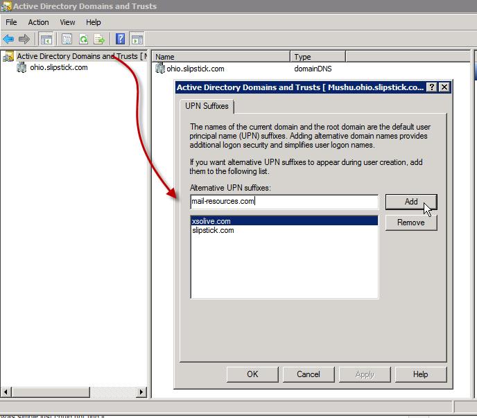 Add Login Domain To Active Directory Poremsky Com
