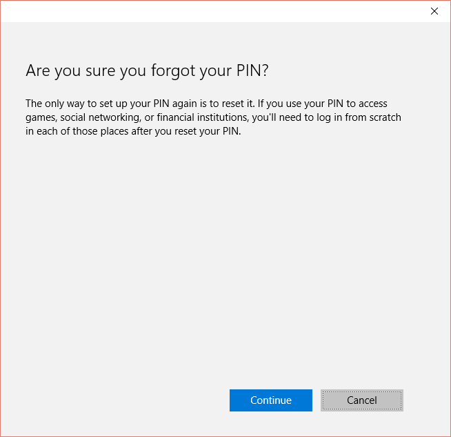 Windows 10: Pin Option Not Available at Logon - @Poremsky com